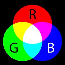 مدل رنگی rgb آر جی بی